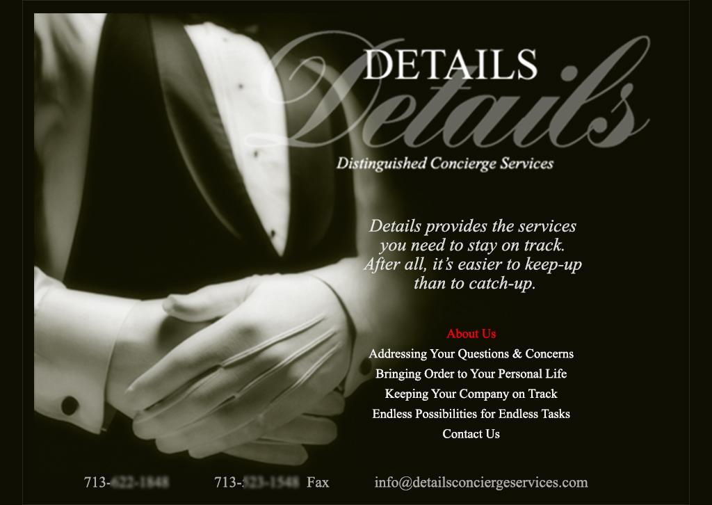 Details Concierge Services