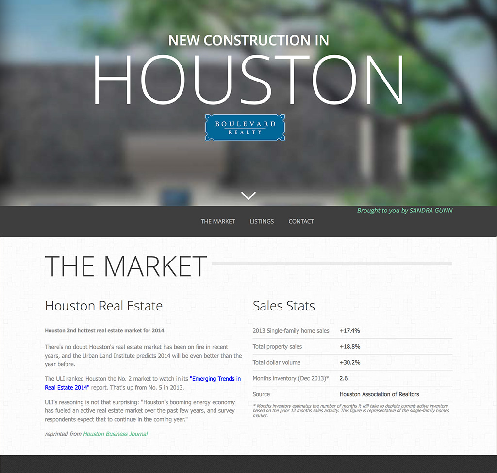 Houston New Construction