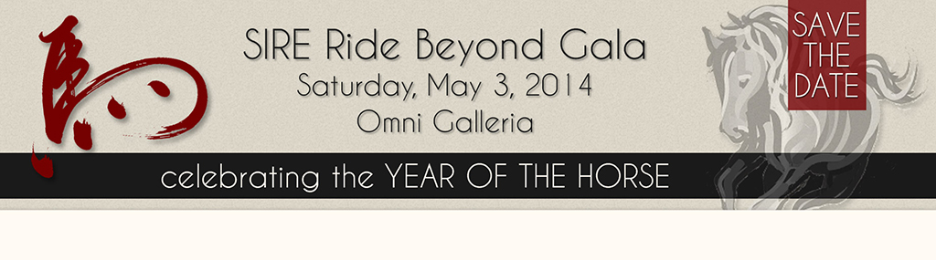 SIRE Year of the Horse Gala Banner