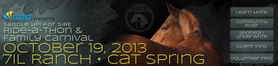 2013 SIRE Ride-a-thon