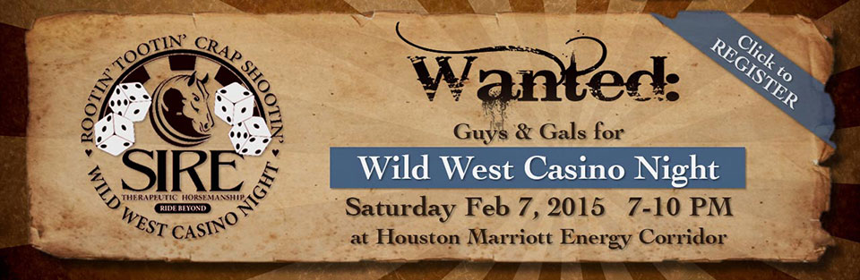 Wild West Casino Night
