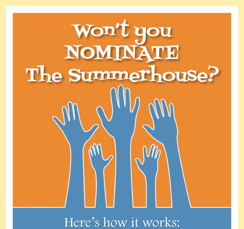 Nominate The Summerhouse