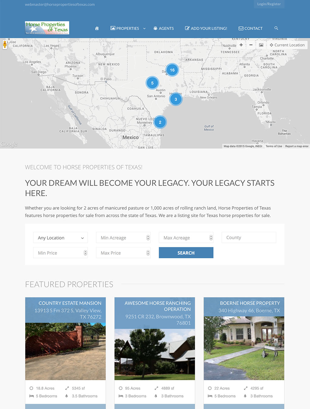 Horse Properties of Texas