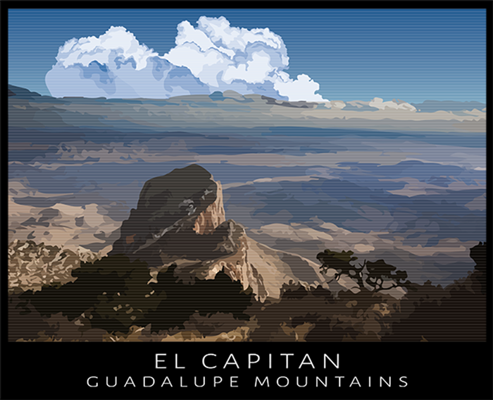 El Capitan T-Shirt Design