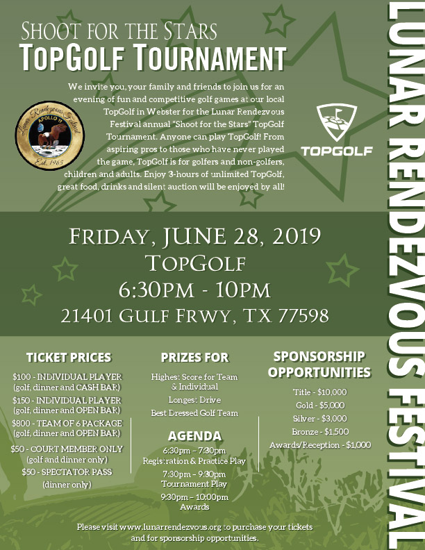 TopGolf Tournament Poster