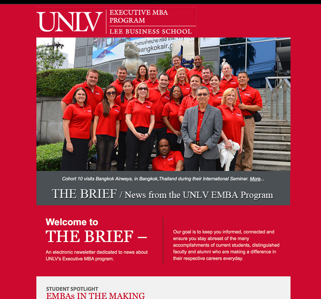 UNLV Email