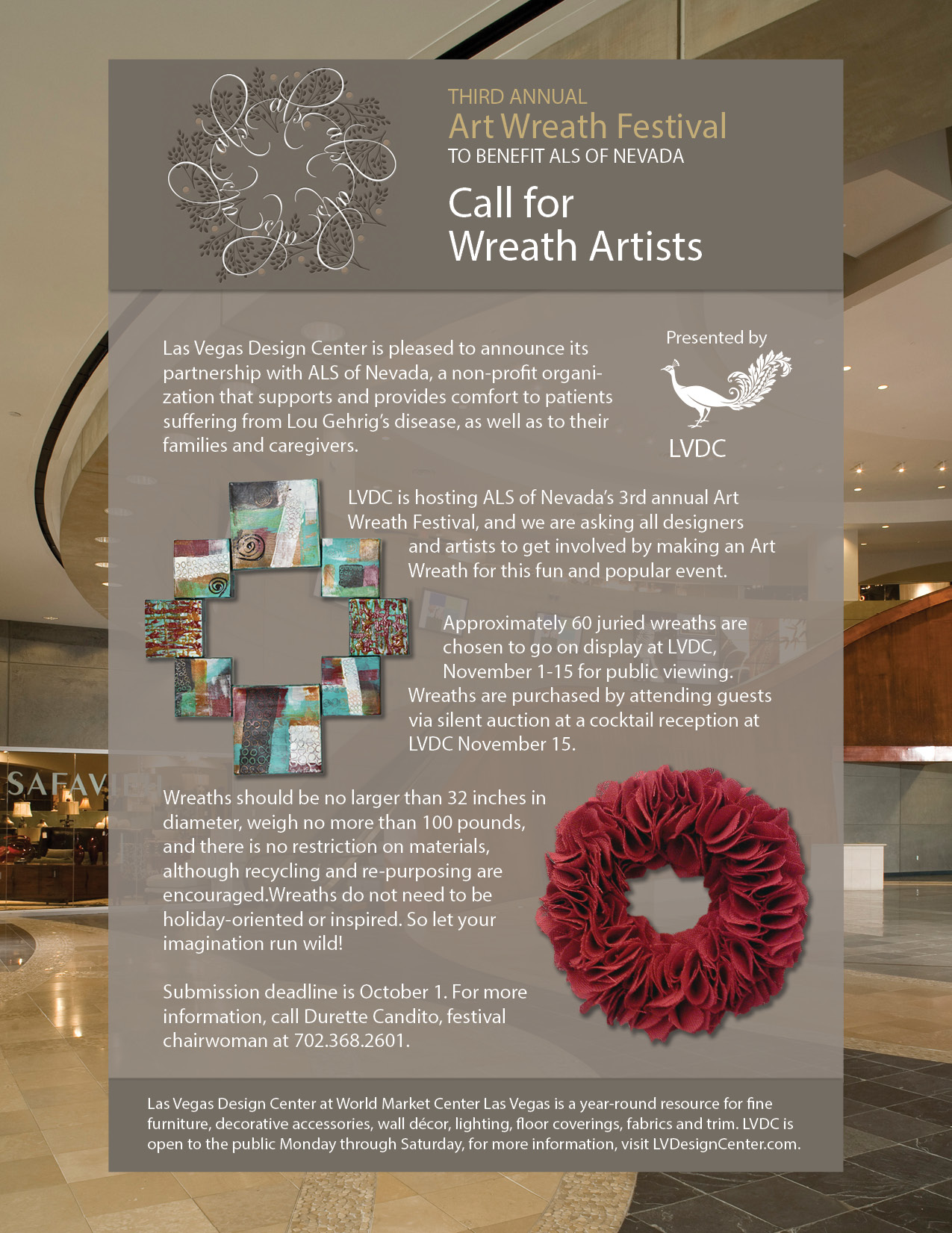 Call for Wreaths Flyer