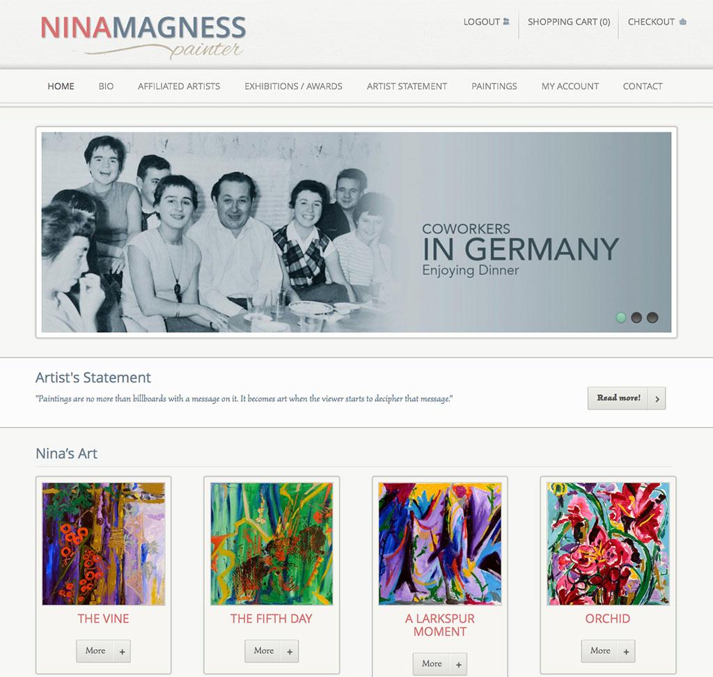 Nina Magness Painter