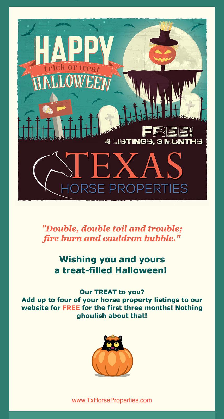 TxHP Halloween Email