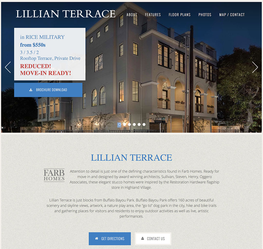 Lillian Terrace by Farb Homes