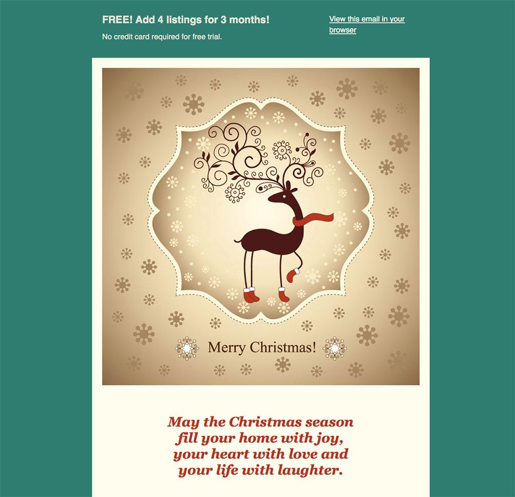 TxHP Christmas Email